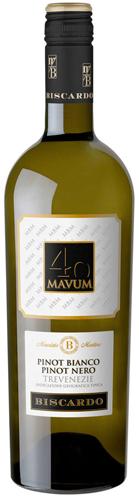 40 Mavum Pinot Blanco Pinot Nero