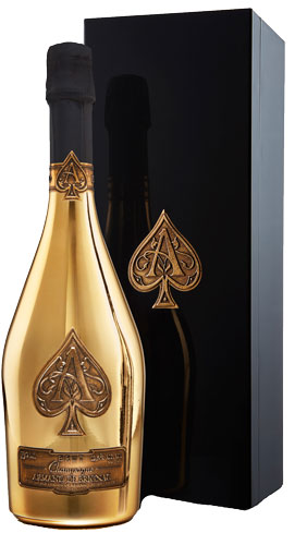 Armand de Brignac Brut Gold in Kist