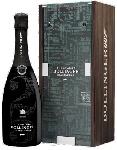 Champagne Bollinger Champagne 007 Limited Edition No Time To Die