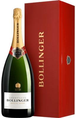 Champagne Bollinger 3 Liter in Kist