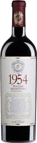 Cantine Paradiso Primitivo 1954 Puglia