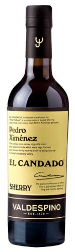 El Candado Pedro Ximenez Sherry Valdespino 0,375L