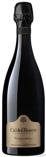 Franciacorta Ca' del Bosco Vintage Dosage Zero Noir