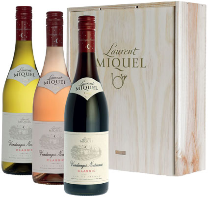 Laurent Miquel Vendanges Kist Rood Wit Rose