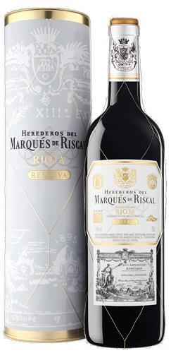 Marques De Riscal Rioja Reserva Magnum Cadeau Koker 2015
