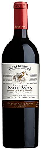 Paul Mas Vignes de Nicole Cabernet Sauvignon Syrah