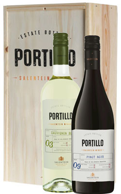 Portillo Kist met Sauvignon Blanc & Pinot Noir