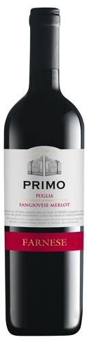 PRIMO Sangiovese Merlot Farnese