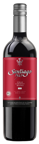 Santiago 1541 Syrah Cabernet Malbec